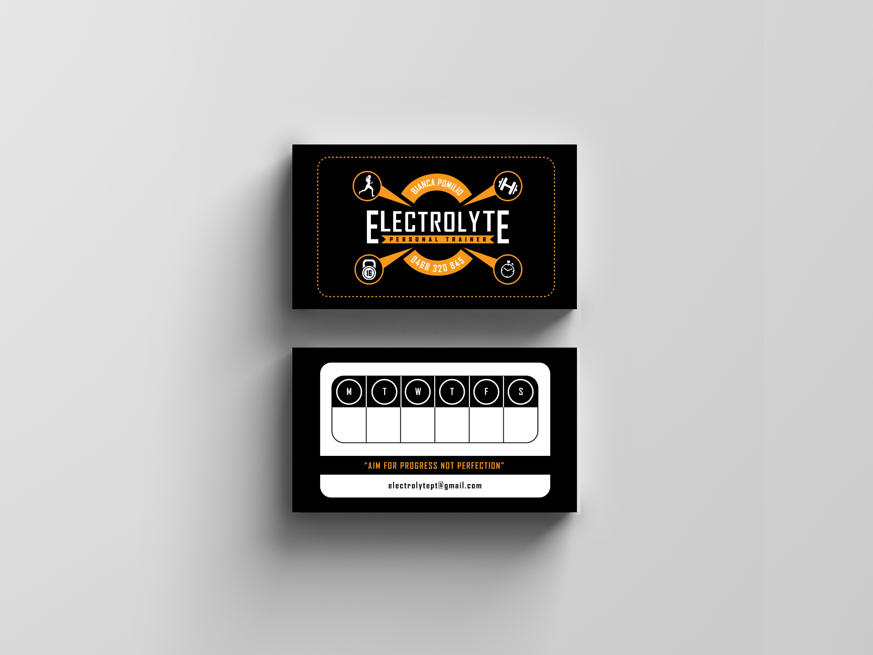electrolyte personal training nf designs